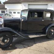 1931 Ford Model A Victoria Sedan Barn Find Ex Police Car 2 Owners Runs Good