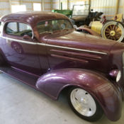 1936 chevrolet deluxe custom coupe chevy resto-mod for sale: photos