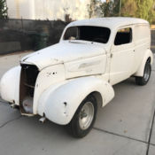 Restoration Project 1936 Chevrolet Chevy Sedan for sale in