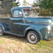 1949 dodge 1 2 ton pick up truck b 1 b 6 cylinder antique for 1949 dodge 5 window pickup truck