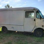 1960 Chevy Grumman Olsen Aluminum Box truck  for sale in Richland