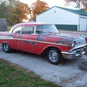 1955 chevy nomad bel air 150/210 project tri five for sale