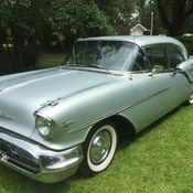 1957 Olds Hardtop Fiesta Buick Chevy Super 88 Wagon For