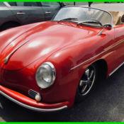 1957 Porsche 356 Speedster 4 Speed Manual 2-Door Convertible for