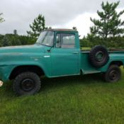 International Pickup truck, 1959, 1 ton, for sale in Shell