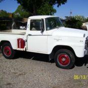 1961 international pickup b120 4x4 for sale: photos