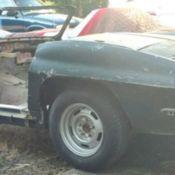1964 Corvette Convertible PROJECT NEEDING Lots REPAIRS/PARTS 1963