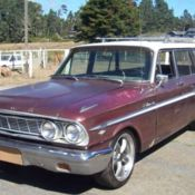 1964 Ford Fairlane Ranch Wagon with 74,000 original miles for sale