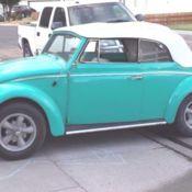 1964 Vw Bug Beetle Convertible Karmann Cabriolet