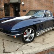 1963 Chevrolet Corvette Convertible Resto Mod with 1967 corvette