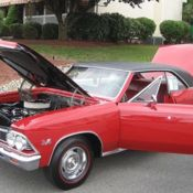 1966 CHEVELLE SS, L-78, 396/375, ROTISSERIE RESTORED AND