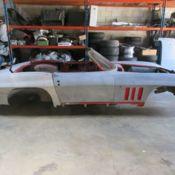 1962 CORVETTE PROJECT CAR ROUGH!!! RESTO MOD FACTORY RED! for sale