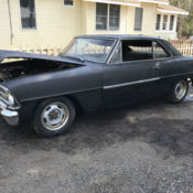 1967 Chevy Nova / Chevy II project car for sale in Spring