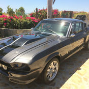 1967 Ford Mustang Fastback Shelby GT 500 Clone