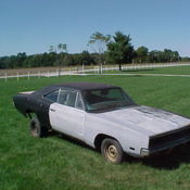 1968 dodge charger, mopar, b body, hemi clone, r/t, looks like 69