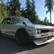 1972 Nissan Skyline GT-R HAKOSUKA for sale: photos