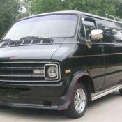 1976 Dodge Shorty 318 Auto California Van for sale: photos