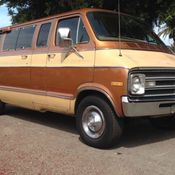 1977 Dodge Sportsman 200 Series 3/4 ton 8-passenger Van for