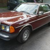 1982 Mercedes Benz 300CD Turbo Diesel for sale: photos