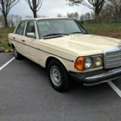No Reserve Classic 1983 Mercedes 240d Vintage Navy Blue Diesel Tan Leather For Sale In Jacksonville Beach Florida United States For Sale Photos Technical Specifications Description