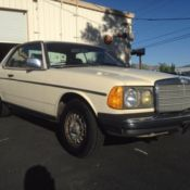 1983 Mercedes Benz 300CD turbo Diesel 2dr Coupe / 30 day
