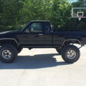984 Toyota pickup, 4x4, xtra cab, solid front axle for sale in