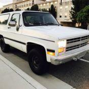 1986 Chevrolet K5 Blazer(US Army)M1009 for sale: photos