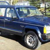 1987 amc jeep cherokee laredo xj 4 0 auto made assembled in the u s a. Black Bedroom Furniture Sets. Home Design Ideas