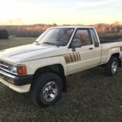 1994 TOYOTA PICKUP 4WD 5spd 4cyl  22RE AWESOME TRUCK!! for