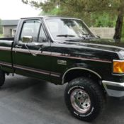 1989 ford f150 lariat 4x4 only 58 800 actual miles. Black Bedroom Furniture Sets. Home Design Ideas