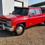 1989 chevy crew cab dually dual wheel pickup truck for sale: photos