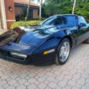 1990 1991 Chevrolet Corvette Black 6 speed 1 OWNER! ONLY