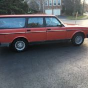 1993 Volvo 240 Wagon 5-Speed for sale in Portland, Maine