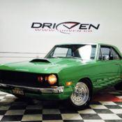 72 Dodge Dart Hot Rod Electric Green Nice Cruiser Runs Great Video Test Drive