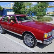 custom 1985 chevy caprice classic with 55k original miles for sale in martinsburg west virginia. Black Bedroom Furniture Sets. Home Design Ideas