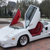 Lamborghini Countach 25th Anniversary Rare 2 245 Miles Crave Luxury