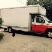 ford truck, ex-uhaul, aluminum ramp, new starter,fuel pump ...