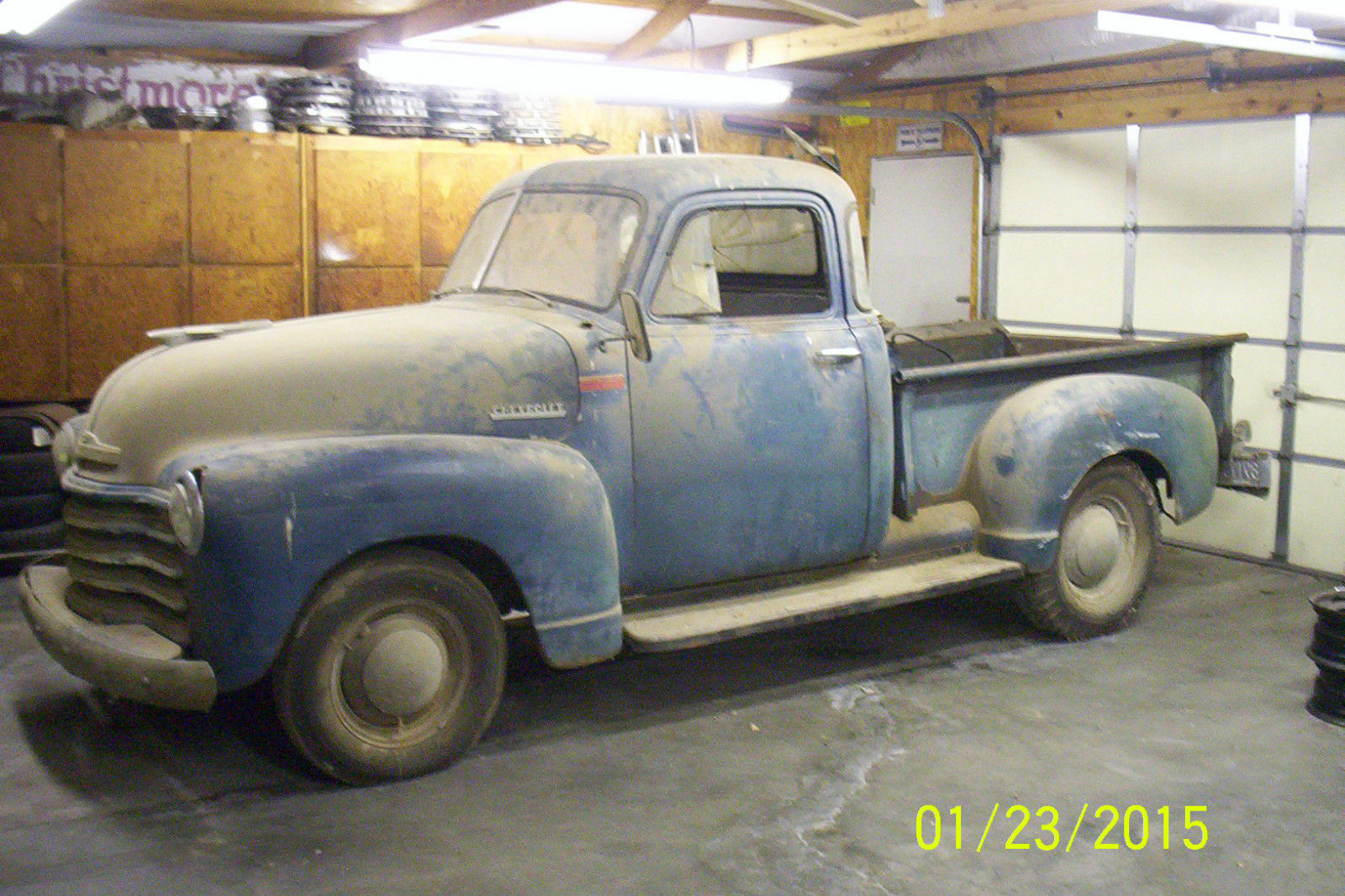 Barn find 1951 chevrolet 5 window pickup low reserve for 1951 chevy 5 window pickup for sale