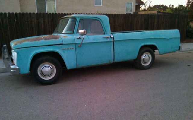 Dodge Power Wagon For Sale >> !! ORIGINAL 1964 DODGE SWEPTLINE TRUCK D200 ( D100 POWER WAGON CAMPER SPECIAL ) for sale in ...