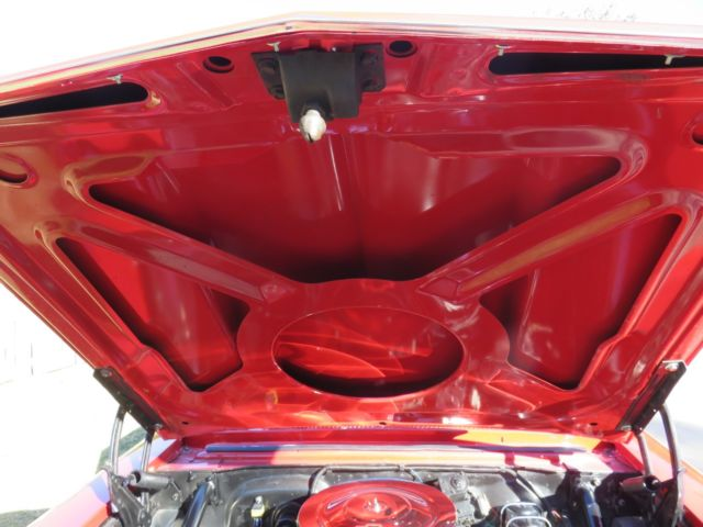 u0026quot  regal red 1966 chevy ii nova hard top heidts front clip