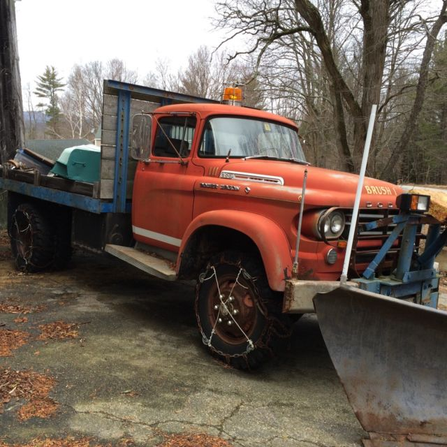"Dodge Power Wagon For Sale >> ""RARE"" 1958 Dodge W500 4x4 Dual Wheel Power Wagon Power"