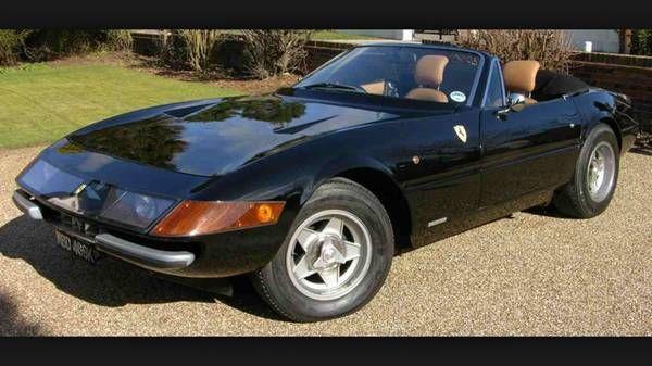 rare srv12 daytona spyder 365 gtb replica kit car for jaguar corvette ferrari for sale in. Black Bedroom Furniture Sets. Home Design Ideas
