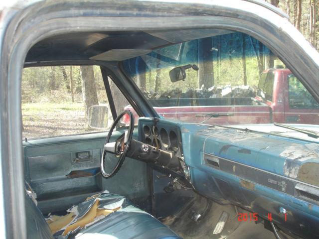 39 86 chevrolet c 10 pick up truck 350 engine automatic transmission white for sale in. Black Bedroom Furniture Sets. Home Design Ideas