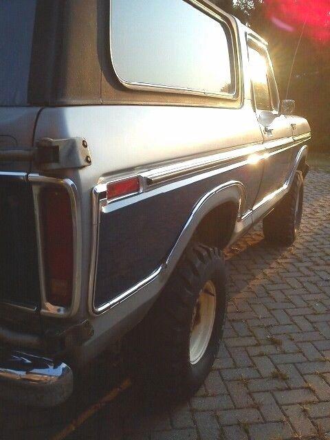 1 owner 1978 ford bronco custom interior new motor 35k miles 98 rust free bod. Black Bedroom Furniture Sets. Home Design Ideas