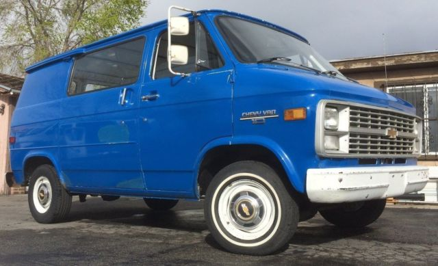 1 Owner 97K miles 1984 shorty 110 Chevy 10 Van street G10 G20