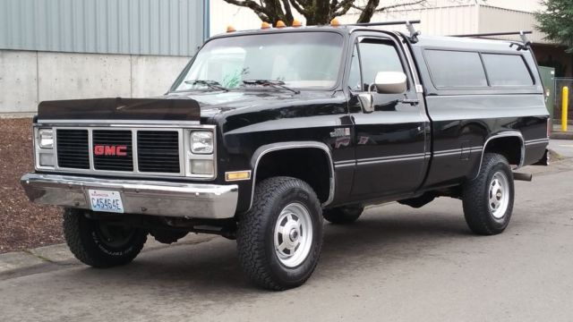 1 Owner All Original 1987 Gmc 2500 4x4 High Sierra Fuelie