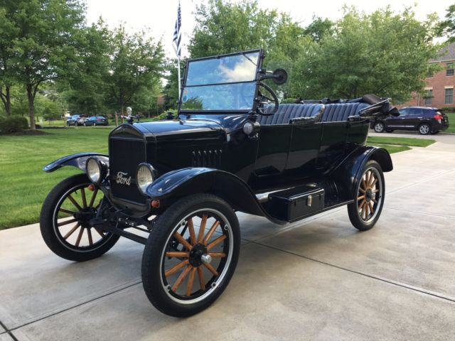 Ford Model T Touring Car Ruckstell Axle Rocky Mountain S Hassler Shocks