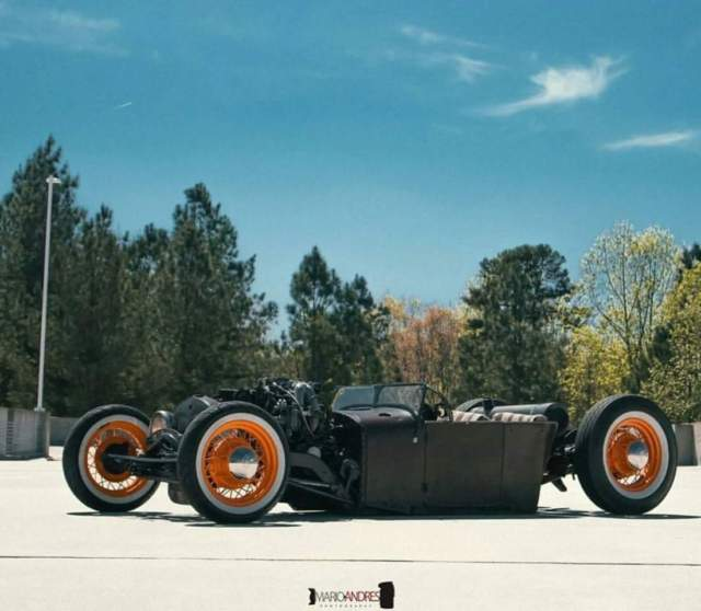 1927 ford model t roadster rat rod hot rod with title