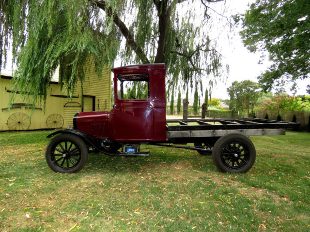 1927 Ford Model Tt 1 Ton Truck Mostly Restored