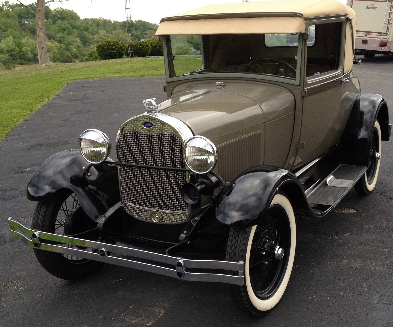 1928 ford model a sport coupe for sale in wellston ohio united states. Black Bedroom Furniture Sets. Home Design Ideas